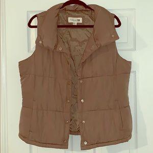 Brown Carmel Vest